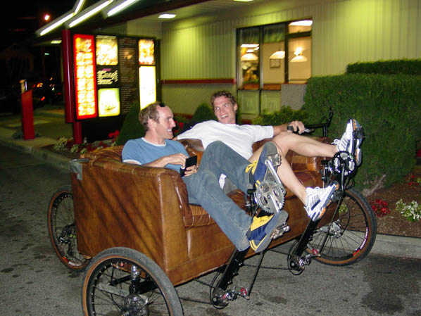 Drive thru couch