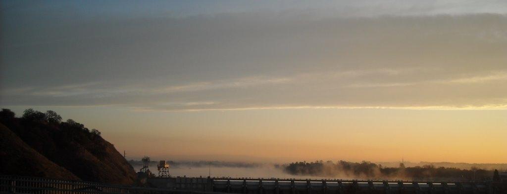 Numbus Dam in the Morning