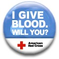 I give blood. Will you?