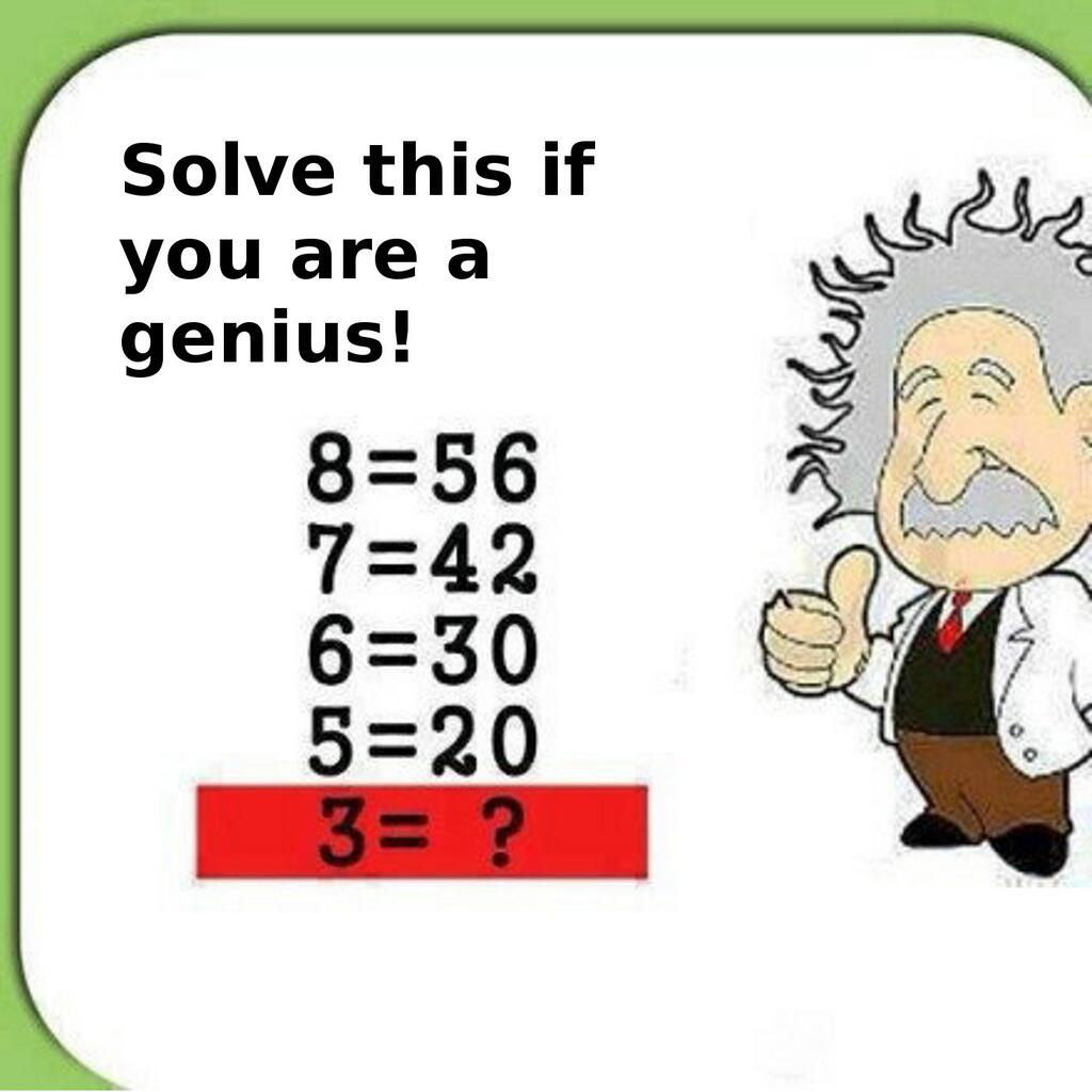 Solve This If You Are A Genius Brent Logan - 38 test answers totally wrong 100 genius