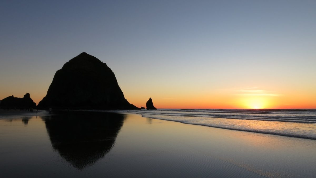 Cannon Beach for New Year's Eve