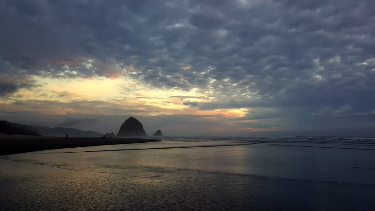 Evening in Cannon Beach