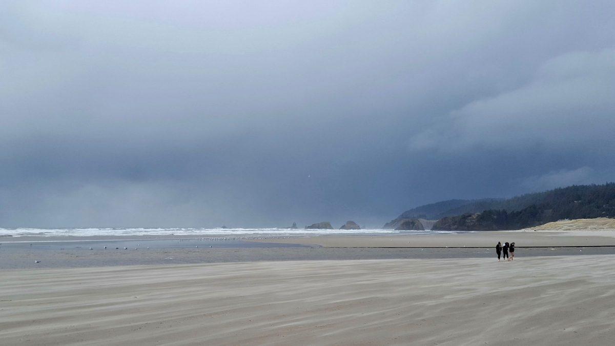 Windy Cannon Beach