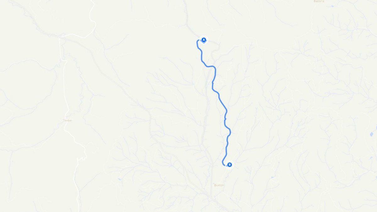 Quick Banks Vernonia Trail Longboard Run