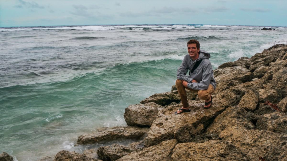 Jamison is blogging his adventure