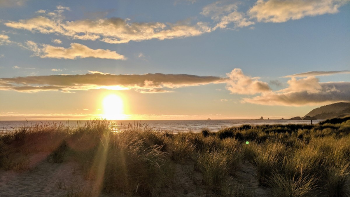 Two trips to Cannon Beach